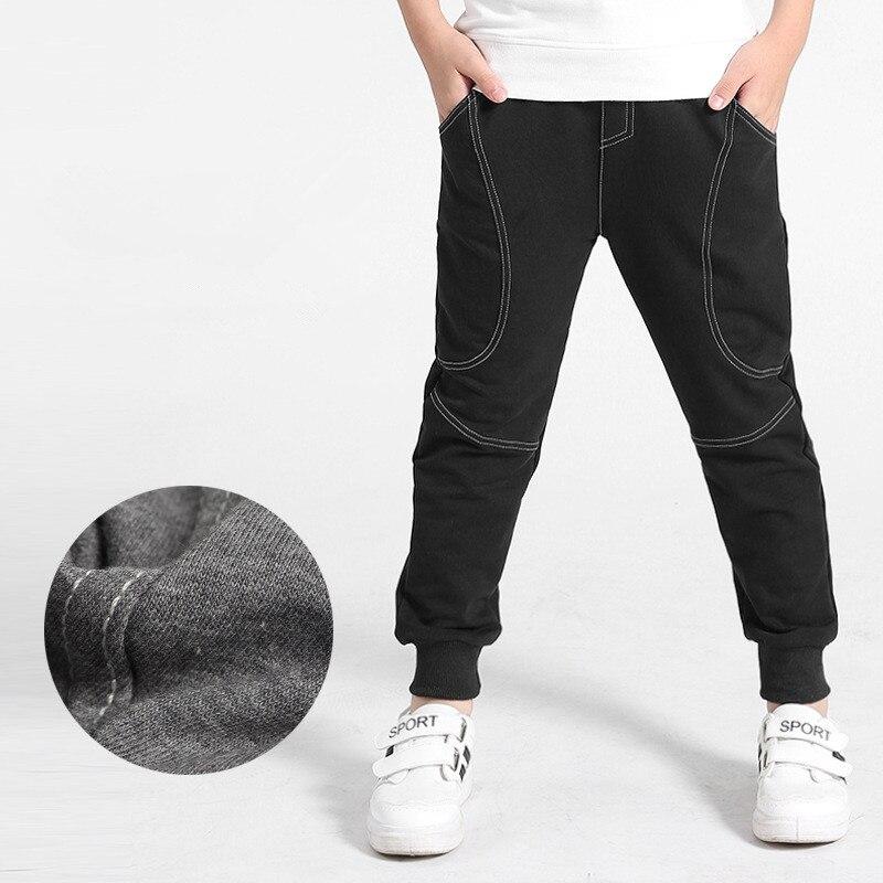 VIDMID Kids Pants 6-14years Boys Casual plaid Pants Kids Clothing Cotton Boys Long Trousers Children Boys Clothing pants 4102 34 2