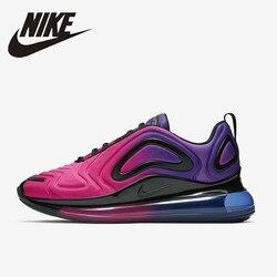 Nike Air Max 720 кроссовки для женщин дышащие Спортивные Кроссовки Новое поступление AR9293-500