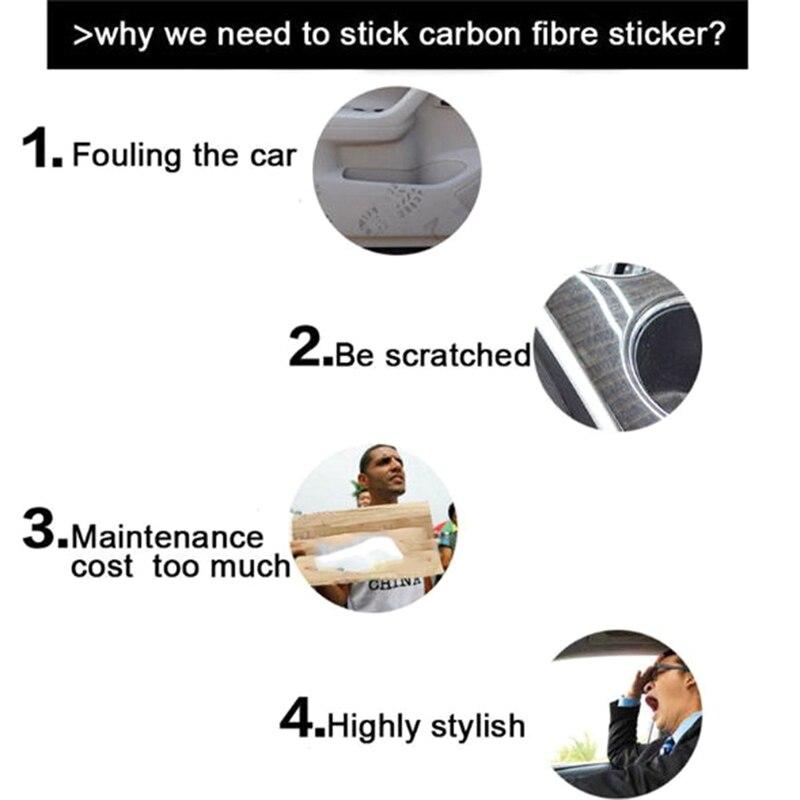 Купить lcyonger универсальный автомобильный порога анти kick стикеры