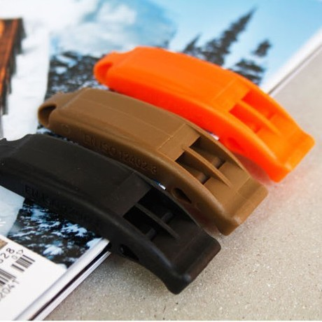 Import Multi-nai Fu Duraflex Dual-Frequency Whistle Outdoor Survival Whistle Whistle Whistle Four Colors