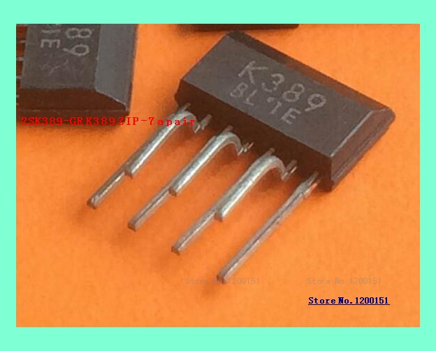 2pcs/lot 2SK389 2SJ109 Matching Tube TO-263