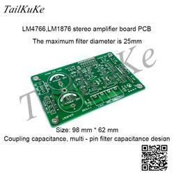 LM4766 LM1876 pcb