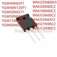 YGW40N65F1 10PCS YGW15N120F1 WMJ25N80M3 WMJ38N60C2