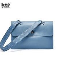 купить BRIGGS Casual Tote Genuine Leather Luxury Handbags Women Bags Designer Crossbody Bags for Women Shoulder Bags Lady Handbags по цене 2979.75 рублей