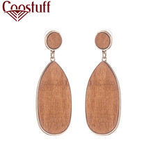 Fashion Jewelry Vintage Wooden Dangle Pendientes Earrings for Women 2020 Female Hanging Statement Dangle Earrings Gifts vintage round wooden dangle earrings for women orange pendientes wholesale female hanging statement dangle earrings 2020 gifts