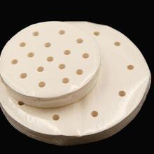 5 дюймовый бамбуковый пароход бумага для приготовления на пару овощи Dim Sum горшок Пароварка антипригарное противень для выпечки вкладыши кухонный инструмент