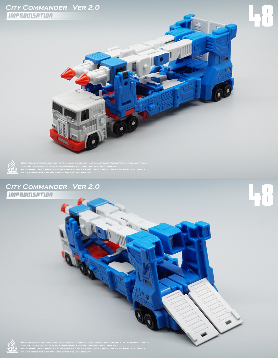 Image 3 - MFT Transformation MF 48 MF48 Ultra Magnus UM Ver2.0 City Commander Action FIgure Robot Toys-in Action & Toy Figures from Toys & Hobbies