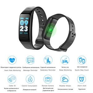 Image 4 - Fitness Bracelet C1S Smart Watch Waterproof Smart Bracelet Heart Rate Monitor Health Tracker bracelet For Sport PK Mi Band 4