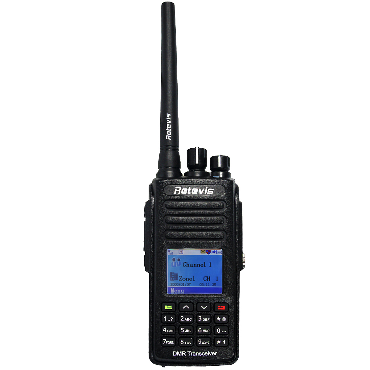 Retevis RT8 DMR Digital Radio (GPS) Walkie Talkie 5W UHF (or VHF) IP67 Waterproof Dustproof Ham Radio Transceiver+Cable