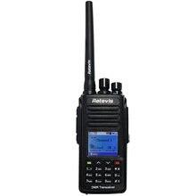 Цифровой радиоприемник retevis rt8 dmr (gps) walkie talkie 5
