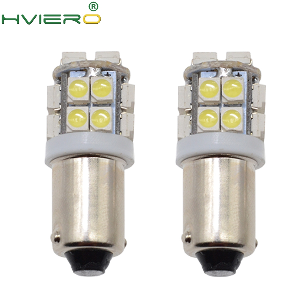 2pcs White Bright DC 12V T11 Ba9s T4W 3528 20smd 1210 Marker Led Interior Reading License Plate Bulb Tail Lamps Gauge Light