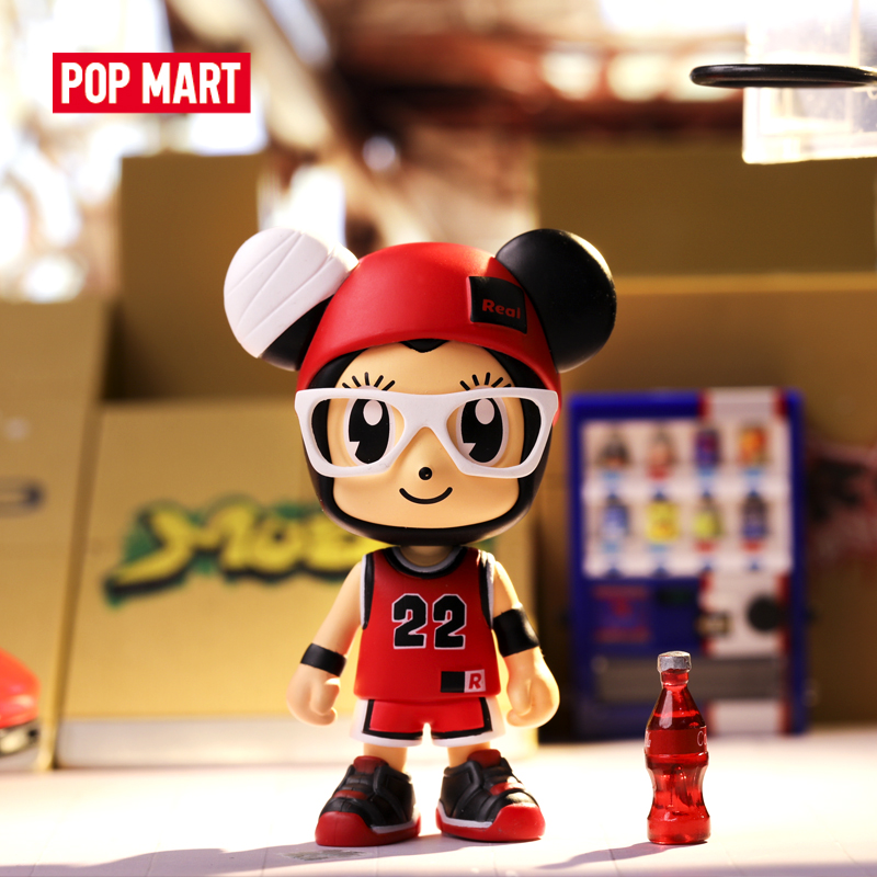 POP MART Stayreal Mouse Little art figures Binary Action Figure Birthday Gift Kid Toy animal figures toys free shipping(China)