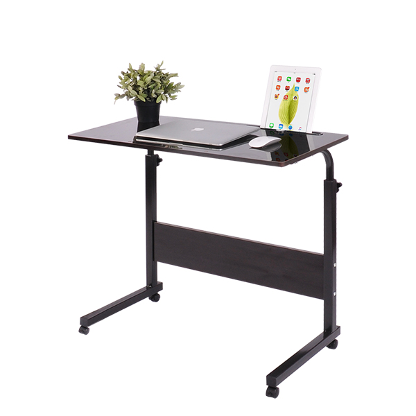Mobile Simple Lift Laptop Desk Bed Desk Land Use Mobile Lazy Table Bedside Computer Desk