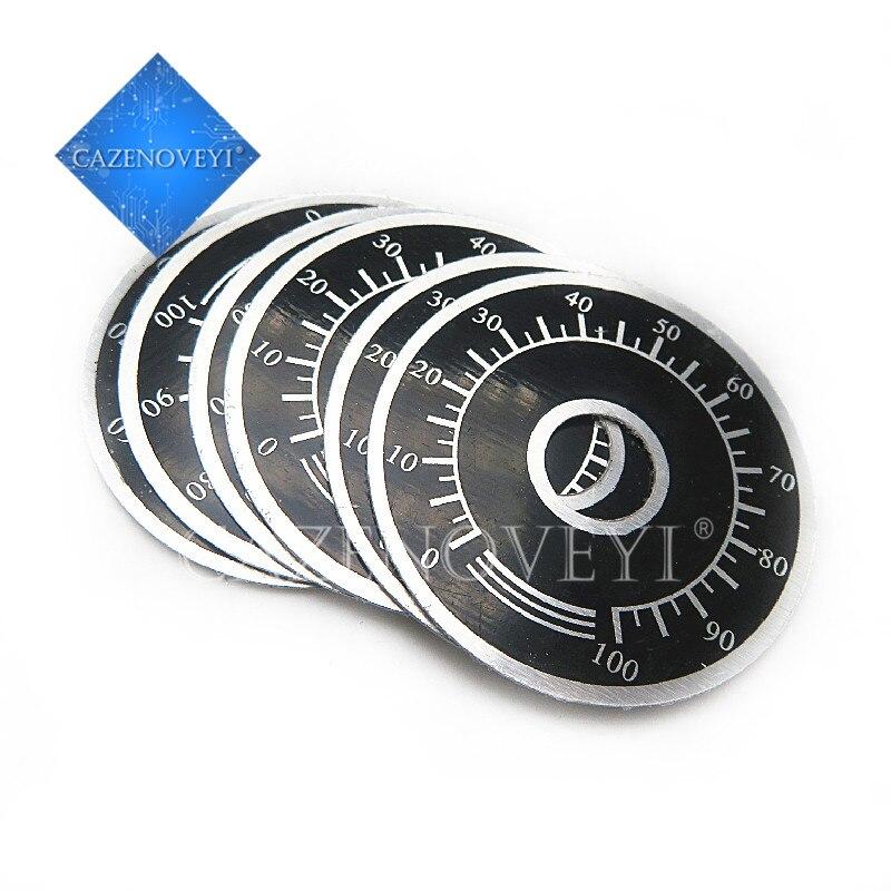 5 шт./лот 0-100 WTH118 Ручка потенциометра весы цифровые весы могут быть оснащены WX112 TOPVR в наличии