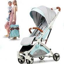 Carriage-Umbrella Stroller Plane-Gifts Newborn-Travelling Babyfond Portable Children