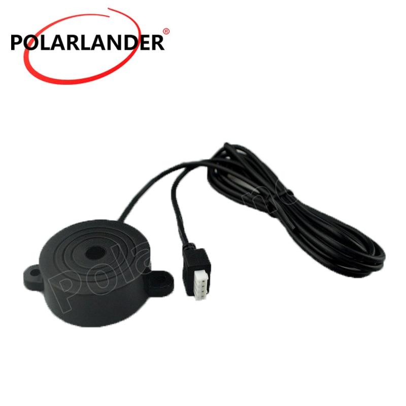 Hohe qualität 12 V Parkplatz Sensor summer Sensoren Rückunterstützungsradar-system für Alle Autos Unterstützung Radar Beep Stimme