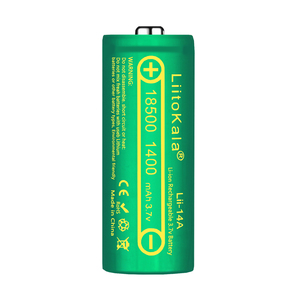 Image 4 - LiitoKala Lii 14A 18500 1400mAh 3.7V 18500 Battery Rechargeable Battery Recarregavel Lithium Li ion Batteies For LED Flashlight