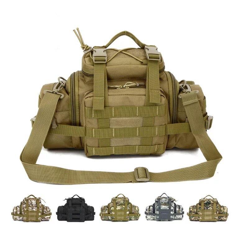 Belt Cameras-Bag Fanny-Pack Shouder Molle Military Sports Large Outdoor Assault Tactics