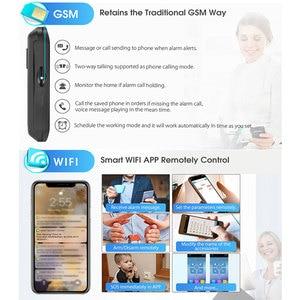 Image 5 - 3G GSM WIFI Hệ Thống Báo Động Ứng Dụng Điều Khiển Nhà Thông Minh GPRS Không Dây 433MHz Báo Động Với Bộ Cảm Biến PIR còi Báo Động Cửa Cảm Biến & RFID