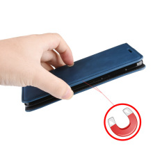 Leather Flip Case for OPPO A72 A52 Double Magnetic Cover oppo Oppo Wallet  PU Stand Bags