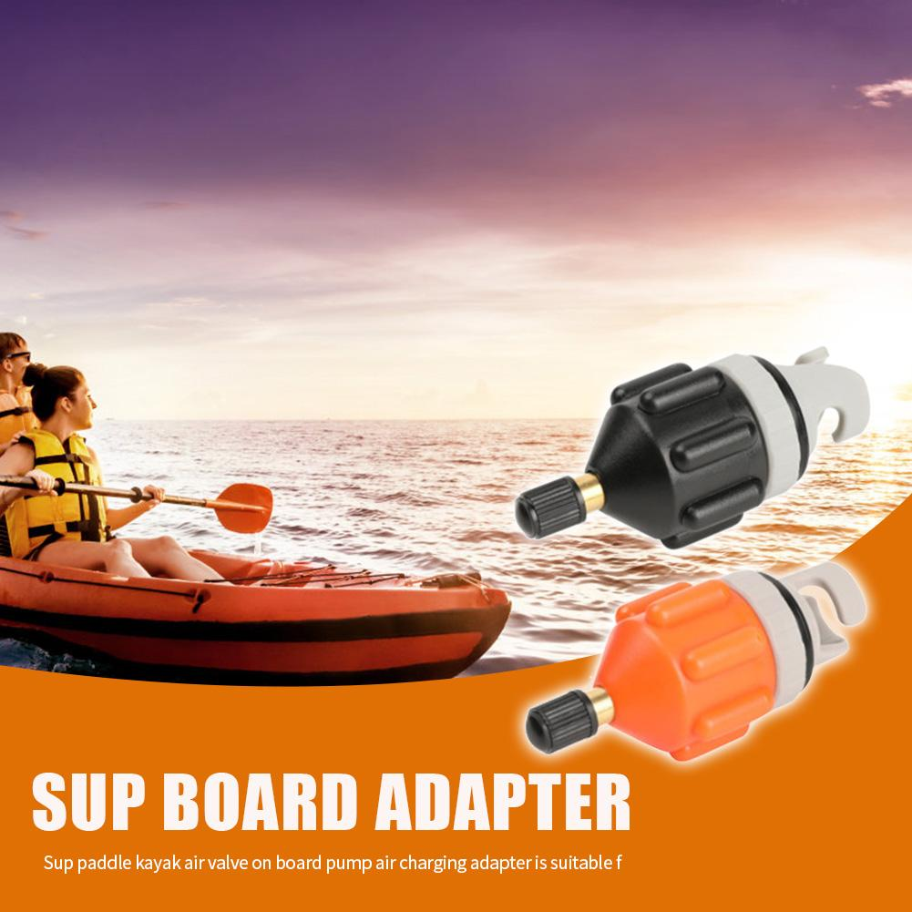 ZARQ Inflable Barco Sup Adaptador de Bomba Adaptador de V/álvula de Bomba de Aire Convencional Adaptador Kayak Convertidor de Bomba de Aire para Bote de Remos Inflable Kayak de Remo de Pie
