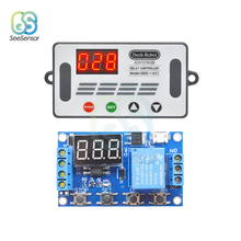 DDC-431 Delay Controller DC 5V 12V 24V LED Light Digital Time Delay Relay Trigger Cycle Timer Delay Switch Timing Control Module 6 30v relay module switch trigger time delay circuit timer cycle adjustable