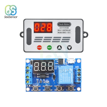 цена на DDC-431 Delay Controller DC 5V 12V 24V LED Light Digital Time Delay Relay Trigger Cycle Timer Delay Switch Timing Control Module