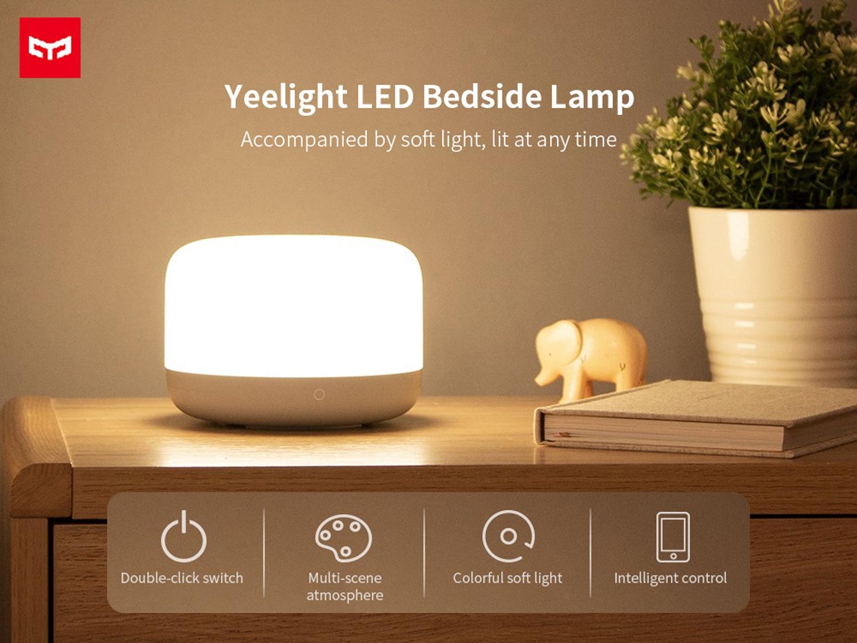 Estas son todas las lámparas de mesita de noche de Xiaomi y Yeelight que aceptan opciones de domótica con Alexa, Google Home y Mi Home