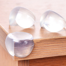 Baby Safety Silicone Protector Table Corner Edge Protection Cover Soft Clear Silicone Band For Desk