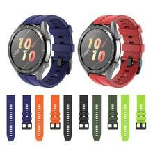سوار سيليكون لساعة huawei Watch GT 2 ، سوار سيليكون أصلي للساعة الرياضية 22 مللي متر ، ساعة Honor Magic 2 ، 46 مللي متر