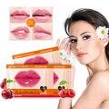 1 stücke Kristall Kollagen Lip Mask Pads Feuchtigkeitsspendende Lip Plumper Lip Peeling Anti Trocknen Anti-aging-falten-patch-pad Gel Lip pflege TSLM1