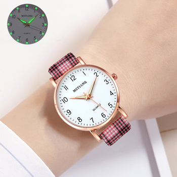 2021 NEW Women Watches Simple Vintage Small Watch Leather Strap Casual Sports Wrist Clock Dress Women's watches Reloj mujer