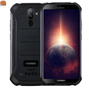 Перейти на Алиэкспресс и купить Новый DOOGEE S40 Pro 4GB 64GB Встроенная память Android 10 прочный мобильный телефон IP68/IP69K Водонепроницаемый смартфонов Helio A25 Восьмиядерный сотовые теле...