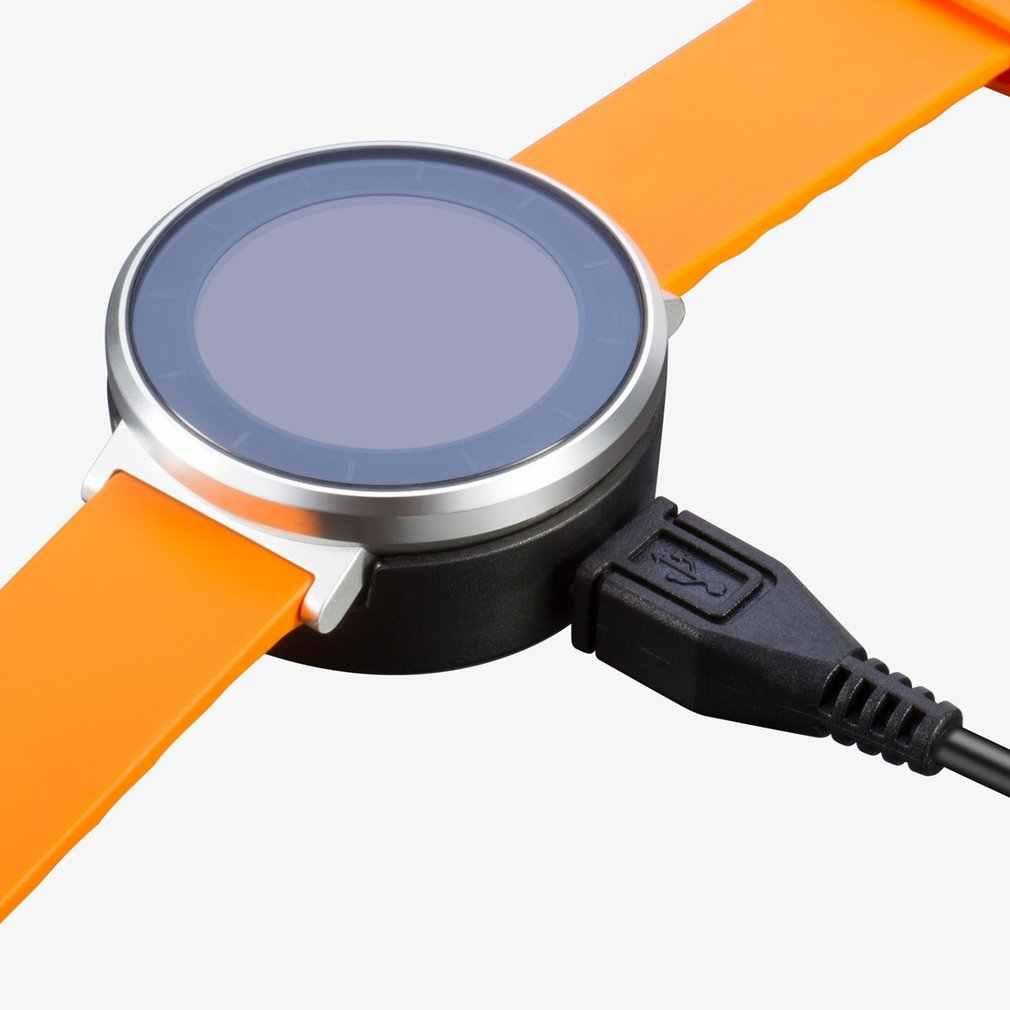 ساعة محمولة شاحن مهد شاحن قوي المغناطيسي شفط حوض شحن USB قاعدة لهواوي صالح (الشرف S1) ساعة ذكية