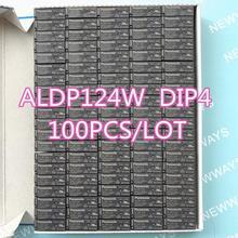 100 Relé Pçs/lote Aldp124 Aldp124W 24V 5A 250V Dip4 Novo E Original