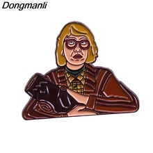 P4787 Dongmanli Twin Peaks Enamel Pins Brooches for Women Fashion Lapel Jewelry Backpack Bags Badge Gifts цена 2017