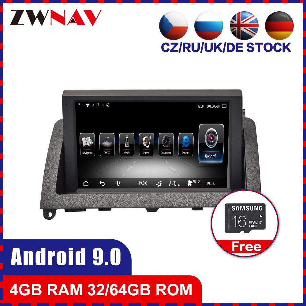 Android 9,0 автомобильный dvd GPS Navi головное устройство для Mercedes Benz C Class W204 C200 2007 2014 Радио Стерео Аудио Видео магнитофон 4 + 64