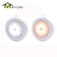 Under-Cabinet-Lamp Badroom Night-Light Motion-Sensor Stairs Wall-Lamp Toilet WC Kitchen