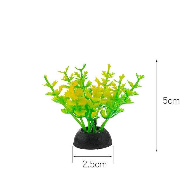 пвх аквариум декоративная имитация искусственный нарфил растение фотография