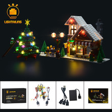 Led-Light-Up-Kit Christmas 10249 LIGHTAILING for Creative-Series Winter Toy Store Compatible