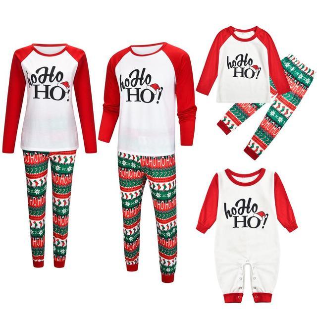 Julepyjamasdragt til familie i 2019