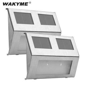 WAKYME 2 LED Solar Light Outdo