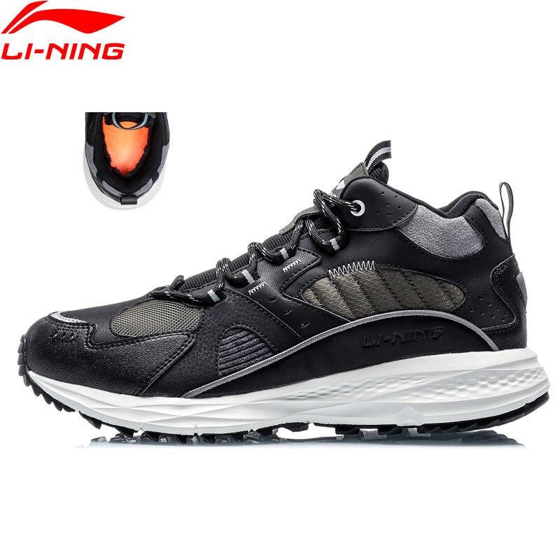 Li-Ning Men LN PIONEER 2020 Lifestyle Shoes Warm Winter Fleece Wearable LiNing CLOUD Sneakers li ning Sport Shoes AGLQ139 YXB410