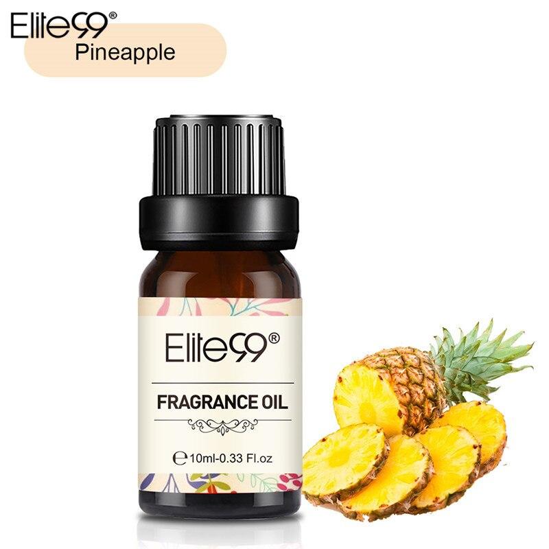 Elite99 Ananas Duft Öl 10ML Blume Obst Reines Ätherisches Öl Entspannen Diffusor Lampe Luft Frisch Massage Natürliche Entspannen