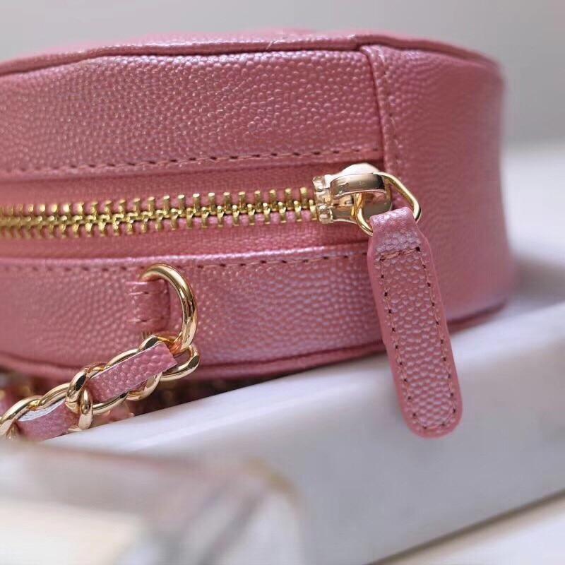Bolso redondo de moda 2019 para mujer, Mini bolso Circular para mujer, bolso de fiesta para mujer, bolso de cadena con bandolera, bolso de marca para mujer - 4