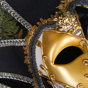 Image 4 - Strongwell Party Mask Venice Masks Party Supplies Masquerade Mask Christmas Halloween Venetian Costumes Carnival Anonymous Masks