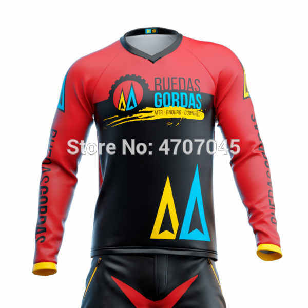 2019 Bersepeda Jersey Motocross Jersey MX Maillot Ciclismo Hombre DH Jersey Off Road Spexcecl MTB Jersey
