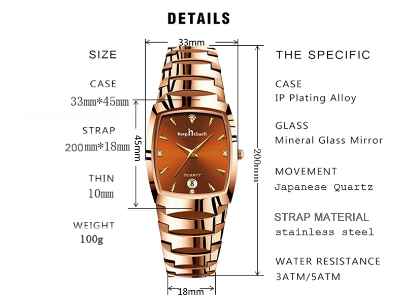 Watches Top Brand Luxury Japan Quartz Waterproof  - 1mrk.com