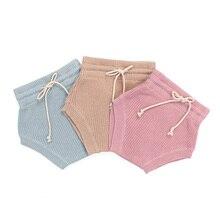 Kaiya angel/детские шаровары унисекс; детские подгузники; Летние однотонные шаровары для маленьких девочек; коллекция года; Детские шорты