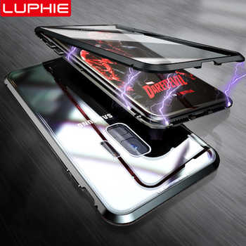 LUPHIE 360 Full Magnetic Case For Samsung Galaxy S9 S8 Plus Note 9 Front Back Glass Case For Samsung Note 8 9 Magnet Cases Cover - DISCOUNT ITEM  49% OFF All Category